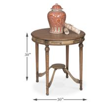 See Details - French Tea Table