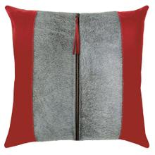 Tanner Pillow, RED, 22X22