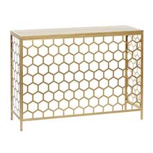 """MTL WD CONSOLE TABLE 42""""W, 30""""H"""