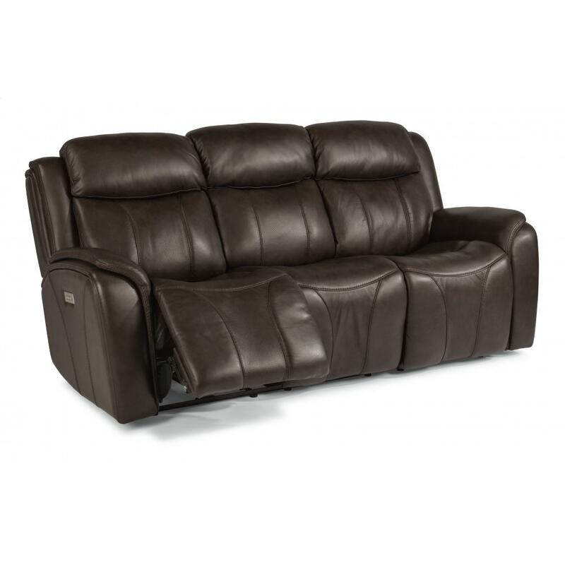 Paisley Power Reclining Sofa with Power Headrests