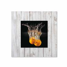 See Details - Oranges With Background Miniature Fine Wall Art