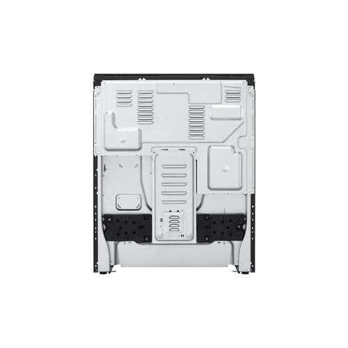 LG - 6.3 cu ft. Smart Wi-Fi Enabled Fan Convection Electric Slide-in Range with Air Fry & EasyClean®