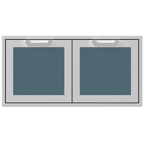 """Hestan - 42"""" Hestan Outdoor Double Storage Doors - AGSD Series - Pacific-fog"""
