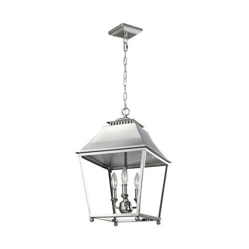 Galloway Medium Lantern Polished Nickel