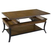 See Details - Plank Lift Top Cocktail Table
