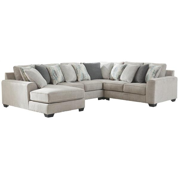 See Details - Ardsley 4-piece Sectional With Chaise