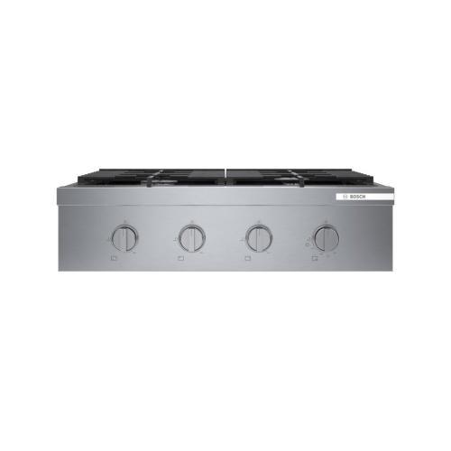 800 Series Professional Rangetop 30'' Stainless steel RGM8058UC
