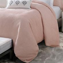 Jolie Chenille Duvet Cover, Pink (king/queen) - Duvet King