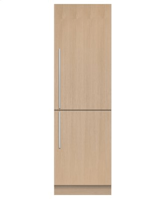 "Integrated Refrigerator Freezer, 24"""