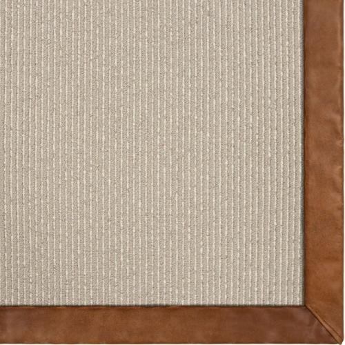 Lanier Bahia 6'x9' / Leather Border