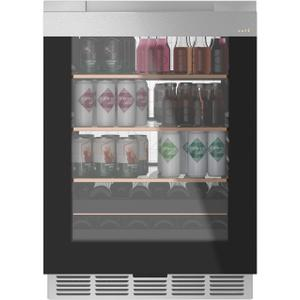 Cafe AppliancesBeverage Center in Platinum Glass