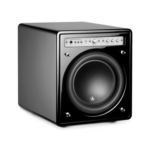 JL Audio - 10-inch (250 mm) Powered Subwoofer, Black Gloss Finish