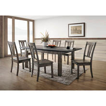 Cambridge Drexel 7-Piece Dining Set with Six Wooden Chairs, 99001-WD7PC1-WG
