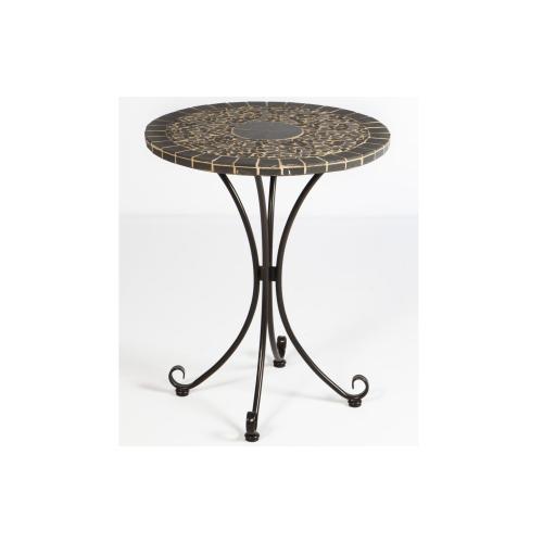 "Vulcano 24"" Round Bistro Ceramic Table Top"