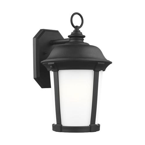 Calder Large One Light Outdoor Wall Lantern Black