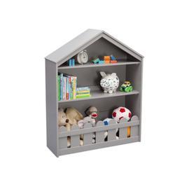 Happy Home Storage Bookcase - Grey (026)