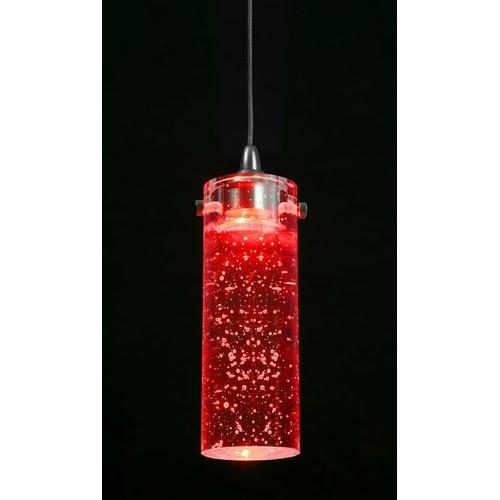 LED crystal with bubble pendant, Cree Chip, 12V, 1.2W, 105 lumen, 8000K