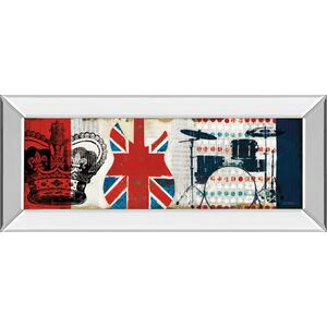 """British Invasion Il"" By Mo Mullan Mirror Framed Print Wall Art"