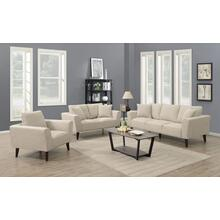 Percy Tan Sofa, Loveseat & Chair, U5302