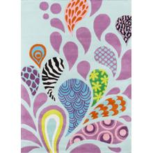 Lil Mo Hipster Funky Paisley Lmt-06 Funky - 2.0 x 3.0