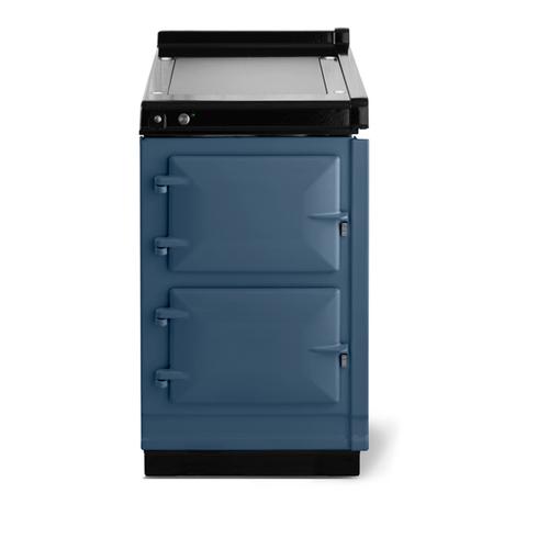 "AGA - AGA Classic 20"" Hotcupboard with Warming Plate, Dartmouth Blue"