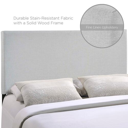 Modway - Region Full Upholstered Fabric Headboard in Sky Gray