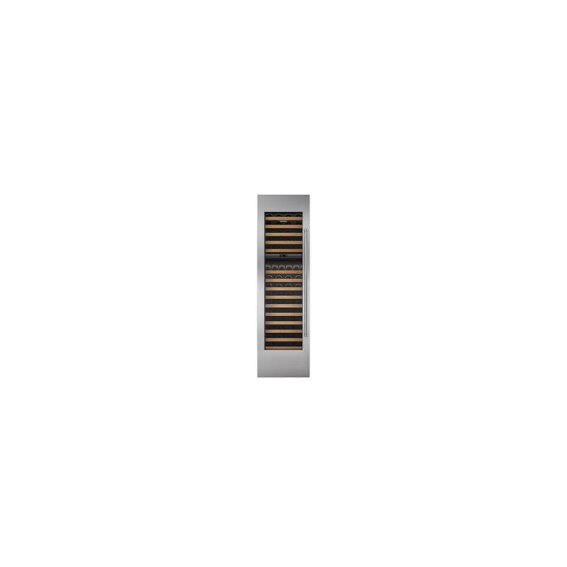 """Integrated Stainless Steel 18"""" Wine Storage Door Panel with Pro Handle - Right Hinge"""