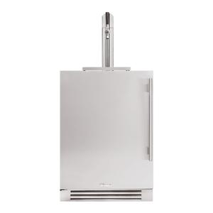 True Residential24 Inch Single Tap Overlay Panel Door Left Hinge Undercounter Beverage Dispenser