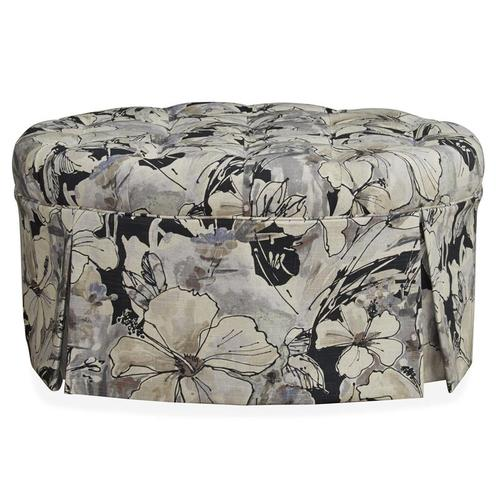Accent Cocktail Ottoman (Novae Charcoal)