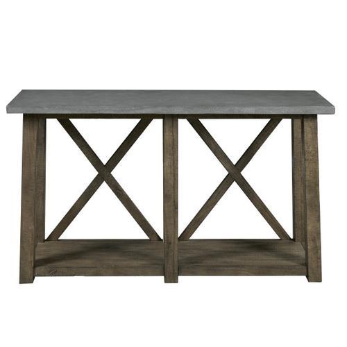 Farmhouse Style Distressed Sofa Table