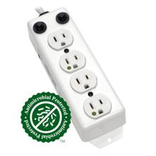 See Details - Safe-IT UL 1363A Medical-Grade Power Strip for Patient-Care Vicinity, 4x 15A Hospital-Grade Outlets, 15 ft. Cord