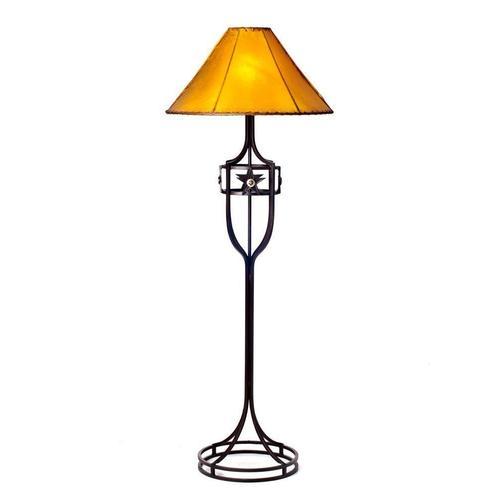 Iron Floor Lamp No Shade DISCONTINUED