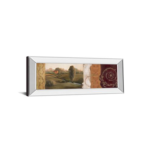 """Tuscan Scene Il Mirror Framed Print Wall Art"