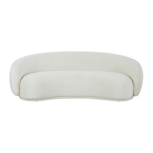 Tov Furniture - Kendall Cream Velvet Sofa