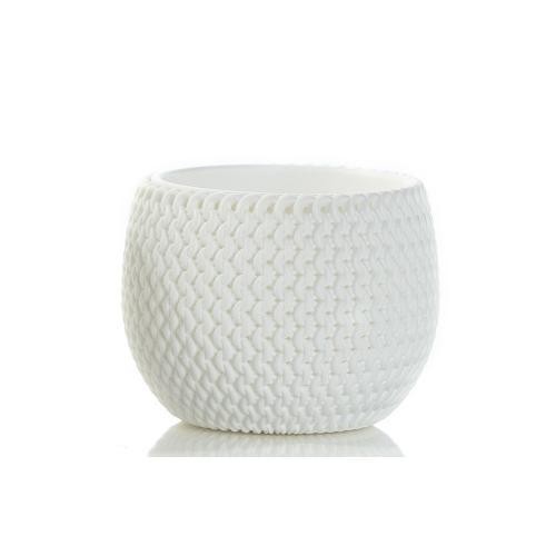 Splofy Bowl Planter- White Sm(min.5pcs)