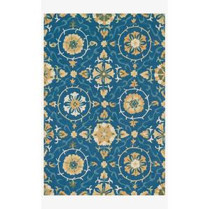 Gallery - FC-51 Blue / Gold Rug