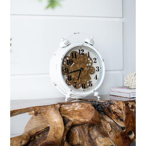 Classic Gears Table Clock