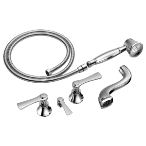 Two-handle Tub Filler Trim Kit With Lever Handles Product Image