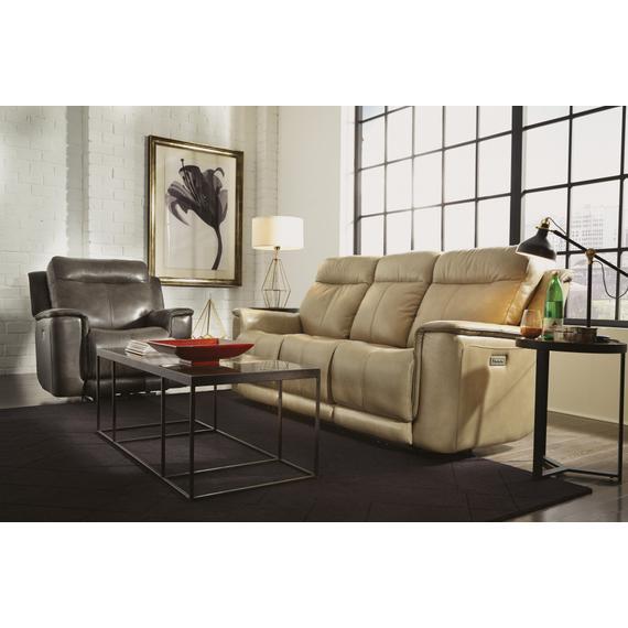 Miller Power Reclining Sofa with Power Headrests & Lumbar
