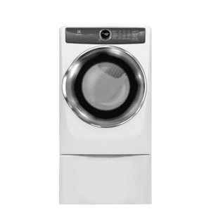 Front Load Perfect Steam™ Gas Dryer with LuxCare® Dry and Instant Refresh - 8.0 Cu. Ft. - WHITE