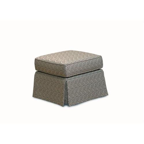 Lacey Ottoman with Skirt