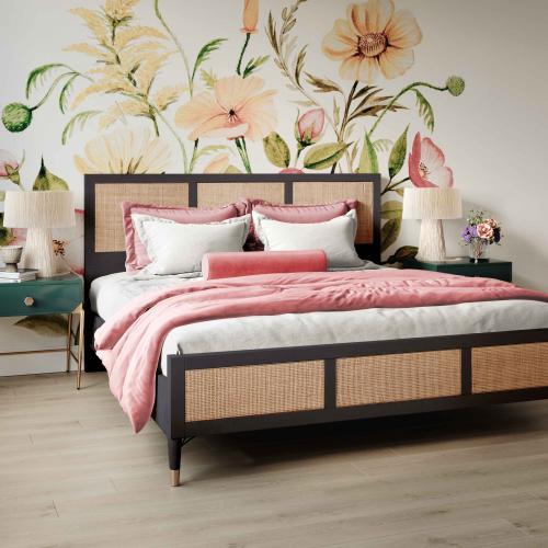 Sierra Noir Bed in King