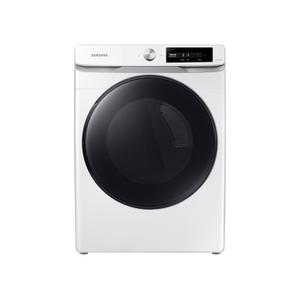 Samsung Appliances7.5 cu. ft. Smart Dial Electric Dryer with Super Speed Dry in White