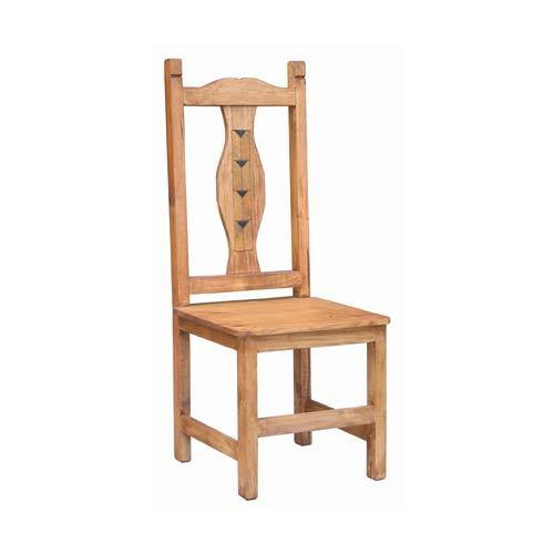 Wood Seat Milan Marble Chair
