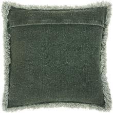"Life Styles E0450 Green 20"" X 20"" Throw Pillow"