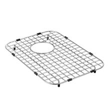 Moen stainless rear drain grid