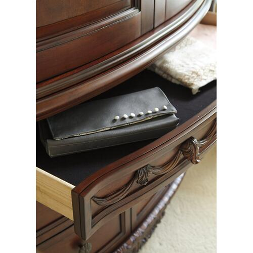 B553 Dresser Only (North Shore Dark Brown)