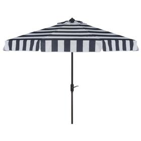 Elsa Fashion Line 11ft Rnd Umbrella - Navy / White