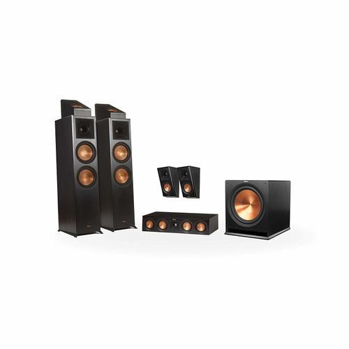 Klipsch - RP-8000F 5.1.2 Dolby Atmos® Home Theater System - Ebony