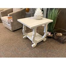 White Decorative Accent Table